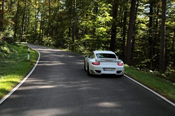 Techart Tuned Porsche 911 Turbo Back