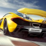 2014 McLaren P1 rear image