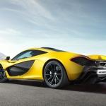 2014 McLaren P1 side photo
