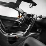 2014 McLaren P1 carbon fiber interior