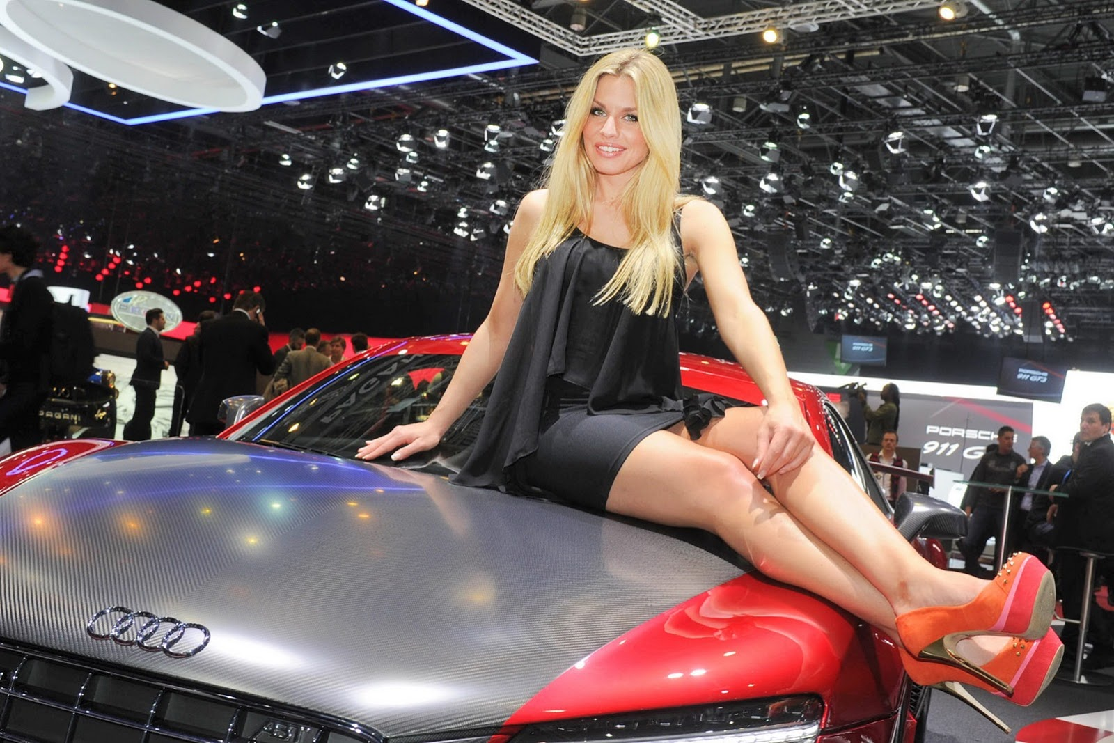 hot girls of the geneva motor show. Black Bedroom Furniture Sets. Home Design Ideas