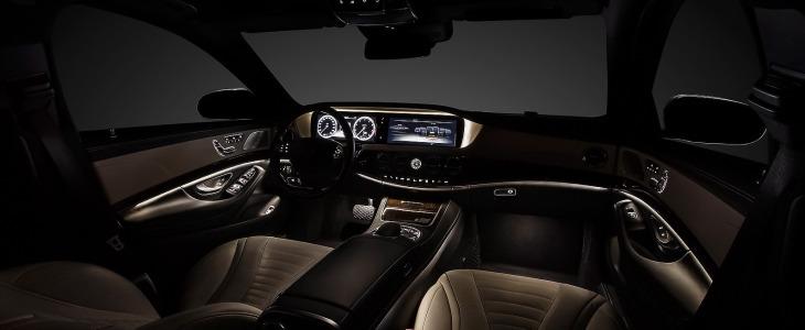2014 Mercedes-Benz S-Class interior front