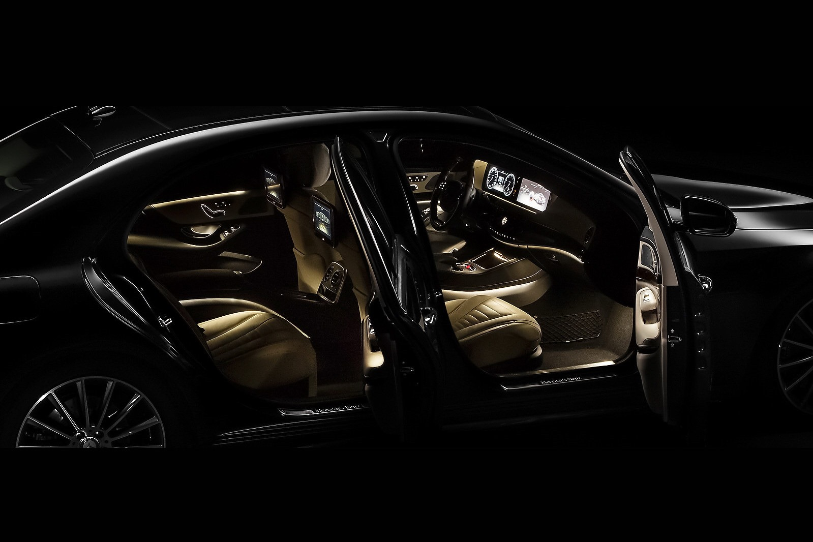 2014 mercedes benz s class interior. Black Bedroom Furniture Sets. Home Design Ideas