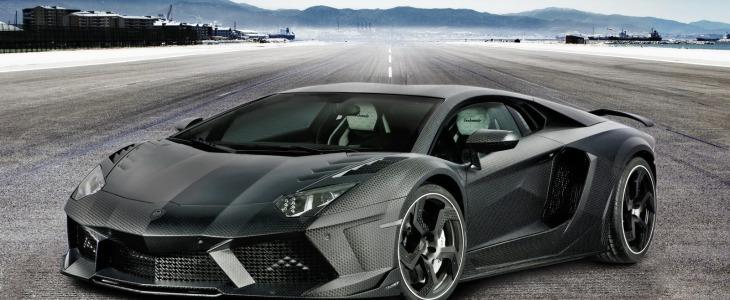 Mansory tuned Lamborghini Aventador