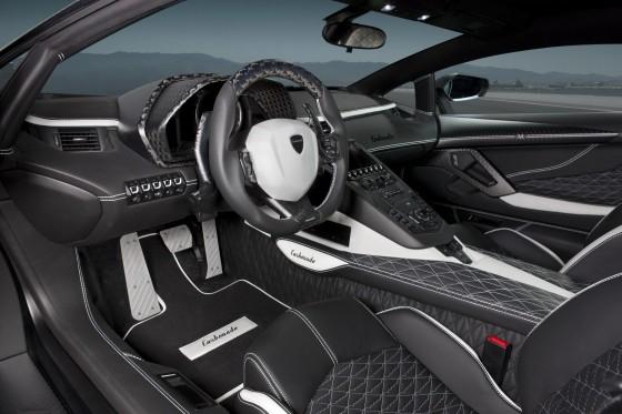 Mansory Carbonado interior
