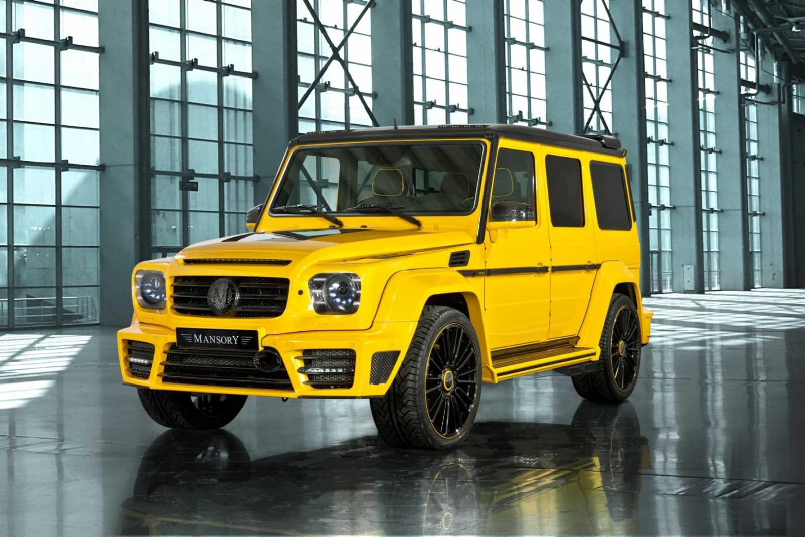 Mansory tuned mercedes benz g63 amg gronos for Mercedes benz truck g class