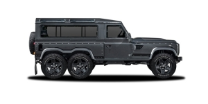 Kahn Design Defender 110 Flying Huntsman WB 6×6 Concept